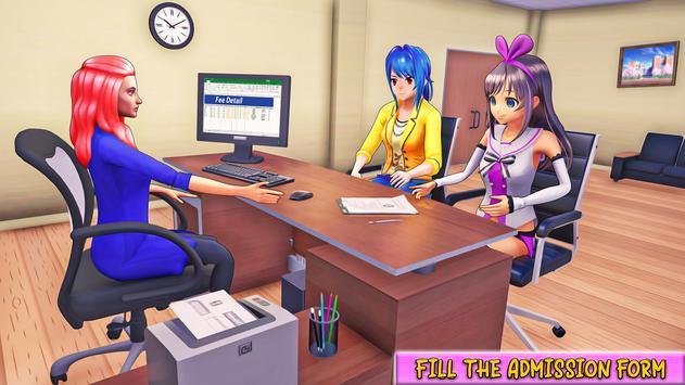 动漫女孩上学模拟(3)