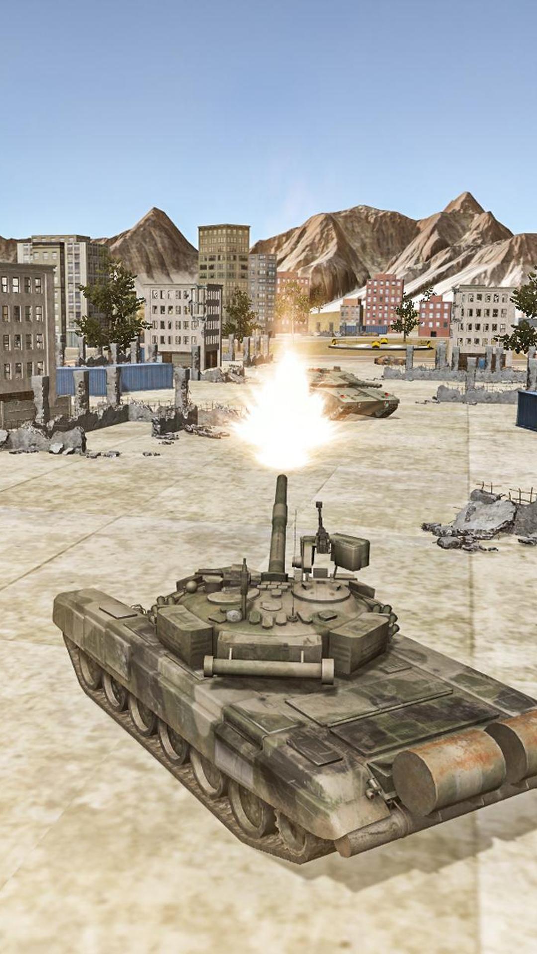 坦克城市大战(1)