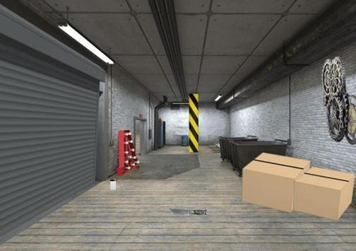 废弃地下停车场逃脱(1)