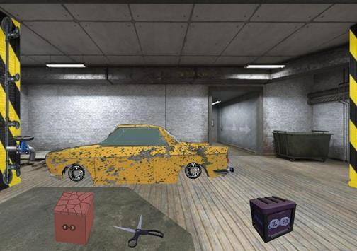 废弃地下停车场逃脱(2)
