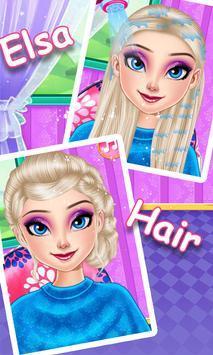 冰公主发型装扮(3)