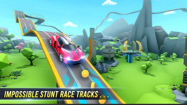 跑车超级坡道赛车(3)