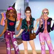时尚朋友装扮