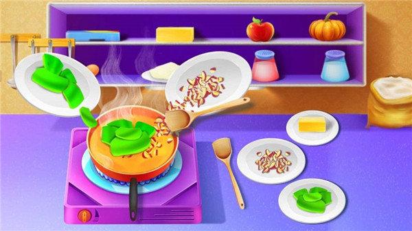 烹饪美食馅饼手机版(1)