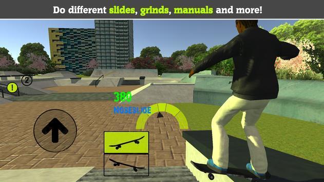 精神小伙玩滑板 图1